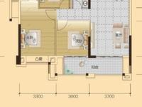 看景三房低价出售7米大阳台完美户型