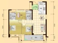 刚需小三房,7米超长阳台,视野无敌,总价低