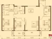 6区双阳台大三房129平中层送装修仅售58万