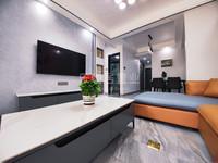 罗富苑 65平改两房 现代风格全新精装修 49万拎包入住