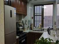 滨海12区精装两房两厅一卫一厨 1800元月租 押二付一 包物业,有钥匙