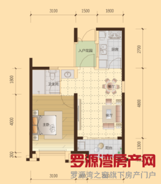 十二区53平单身公寓,低首付,就读实验小学,离市场近,交通生活便利